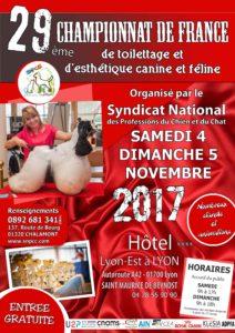 Championnat de France de Toilettage et d'Esthétique canine et féline 2017 – Dernière ligne droite pour envoyer vos inscriptions !