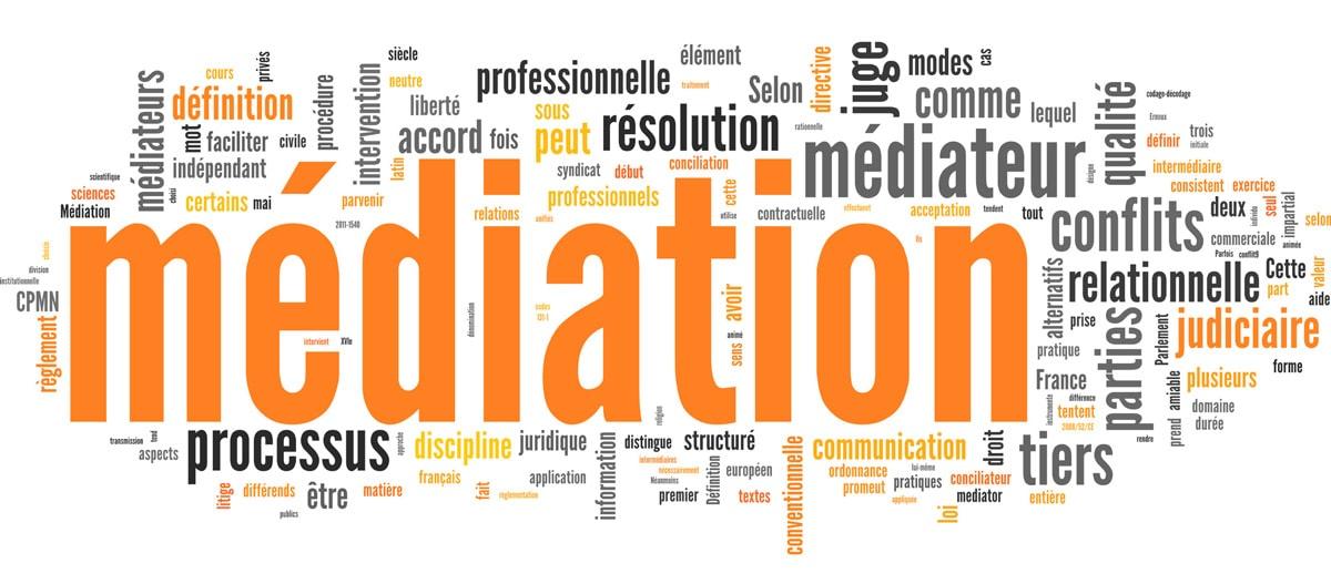 Résolution amiable des conflits : médiation