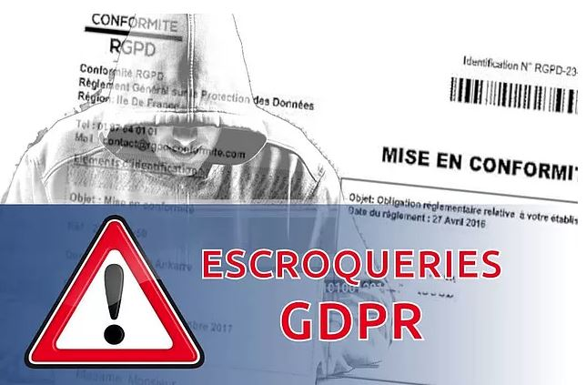 Attention : arnaques RGPD